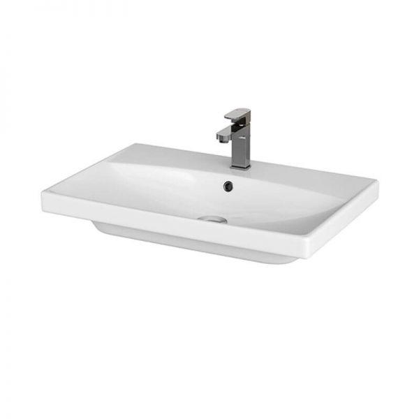 Lavoar pentru mobilier, 70 cm, alb, City