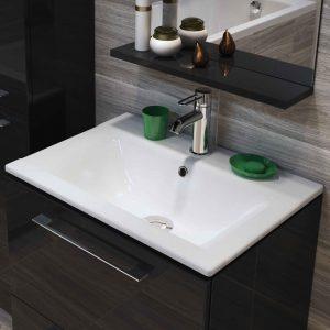 Lavoar dreptunghiular, incastrabil, 50 cm, alb, Ontario New