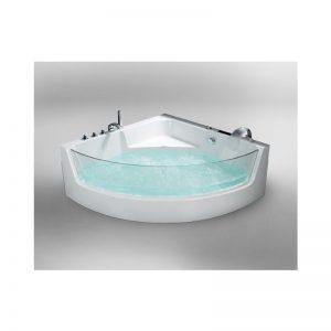 Cada de baie cu cromoterapie, acril sanitar, 150 x 150 cm, Teramo