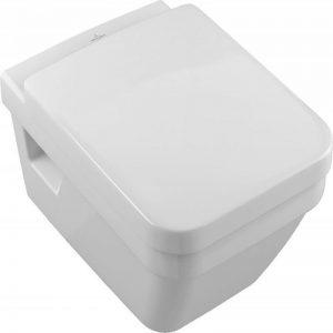 Set vas WC suspendat, direct flush + Capac soft close, alb, Arhitectura