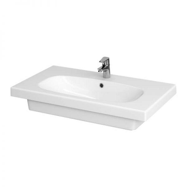 Lavoar pentru mobilier, 80 cm, alb, Fare