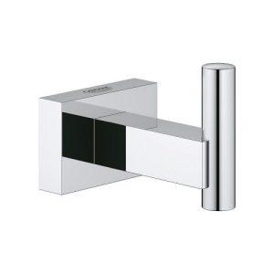 Agatatoare baie Grohe Essentials Cube, fixare perete ascunsa, Crom