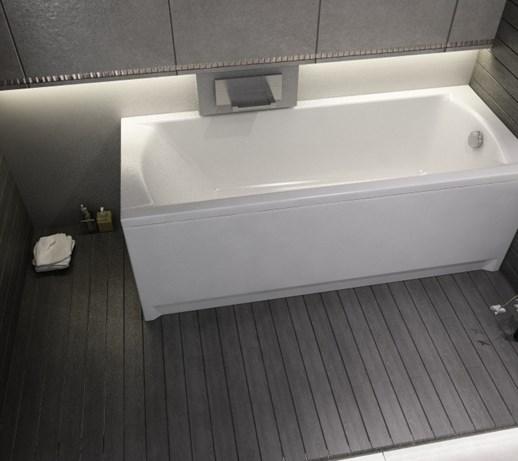 Cada de baie dreptunghiulara, 160x70 cm, KORAT