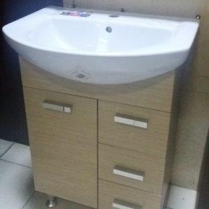 SET Lavoar cu mobilier, lavoar Libra 60 cm k04-008