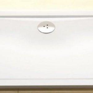 Cadita de dus dreptunghiulara, joase si plate, 120 x 90 cm, Ravak, Gigant Pro Chrome