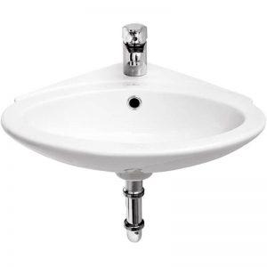 Lavoar de colt 40 cm, Cersanit, Teta
