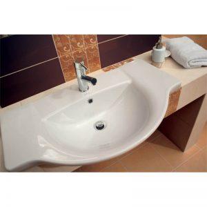 Lavoar pe mobilier 80 cm, Cersanit, Libra