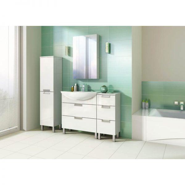 Lavoar pentru mobilier, 80 cm, alb, Omega