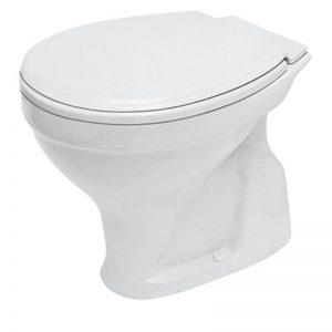 Vas WC cu iesire verticala, alb, Roma New