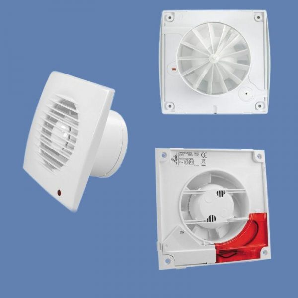 Ventilator aerisire cu temporizare, diametru de 120 mm