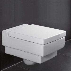 Vas WC suspendat, alb, 37.5 x 56 cm, Villeroy&Boch, Memento