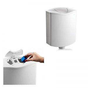 Rezervor WC, acril, cu compartiment pentru pastila odorizanta, AP116PLUS, Geberit