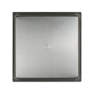 Usita de vizitare, 30 x 30 cm, inox