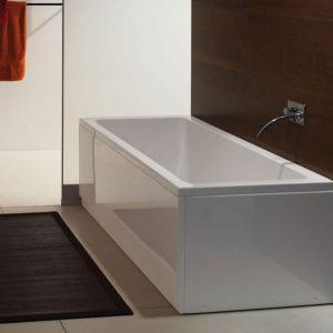 Cada de baie, 200 x 90 cm, alb, Rapido