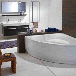 Cada de baie, de colt, 140 x 140 cm, KolpaSan, Slovenia, Allegro