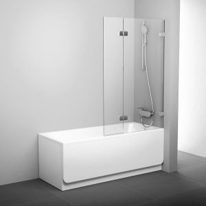 Paravan pentru duş BVS2, 100 cm, de dreapta, B SET inclus