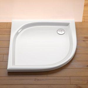 Cădiţa de duş Elipso, 80 x 80 EX, Ravak