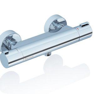 Baterie duş de perete cu thermostat, Ravak, TE 072.00/150