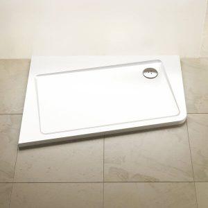 Cadiță de duș ASYMETRIC PRO 120x90 10°, varianta de stanga, Ravak